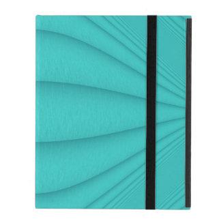 Turquoise Contour iPad Folio Cover