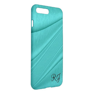 Turquoise Contour Monogram iPhone 8 Plus/7 Plus Case