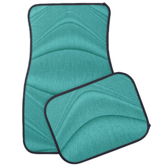Turquoise Contour Truck and Car Mat