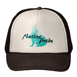 Turquoise Coyote Hat