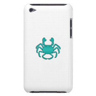 Turquoise crab iPod touch cases
