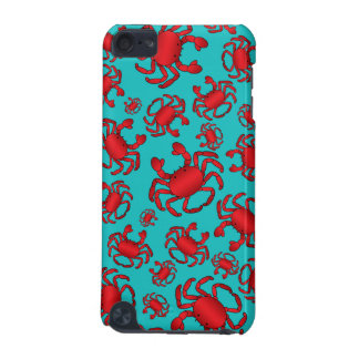 Turquoise crab pattern iPod touch (5th generation) covers