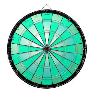 Turquoise Darts Modern Gamers Games Players Dartboard