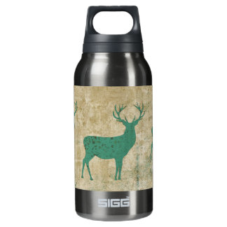 Turquoise Deer Silhouette Liberty Bottle