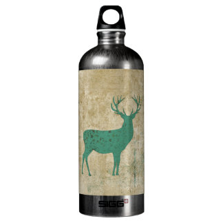 Turquoise Deer Silhouette Liberty Bottle SIGG Traveller 1.0L Water Bottle