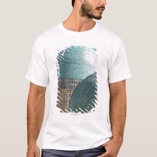 Turquoise domes, Shahr i Zindah mausoleum, T-Shirt