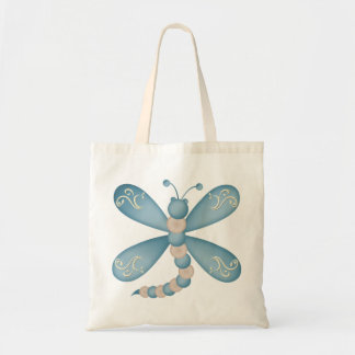 Turquoise Dragonfly Bag