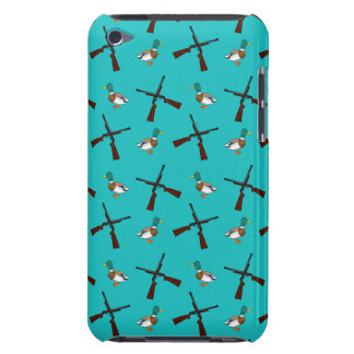 Turquoise duck hunting pattern iPod touch covers