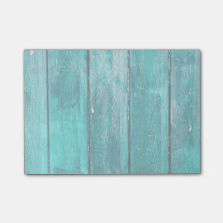 Turquoise Fence Post-it Notes