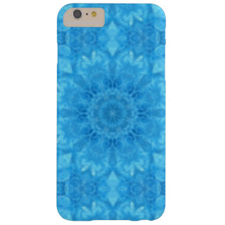 Turquoise Floral Barely There iPhone 6 Plus Case