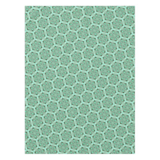 Turquoise flower pattern (K361) Tablecloth