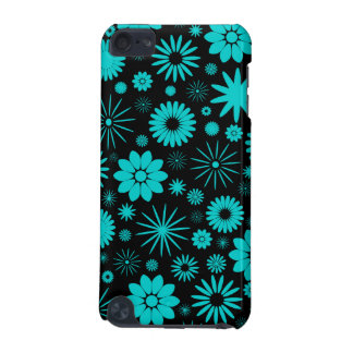 Turquoise Flowers  iPod Touch (5th Generation) Covers