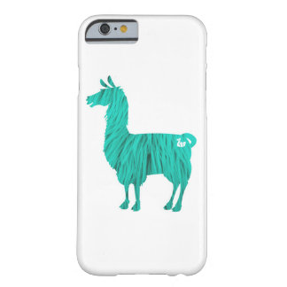 Turquoise Furry Llama Case