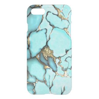 Turquoise Gemstone Gold Matrix iPhone 8/7 Case