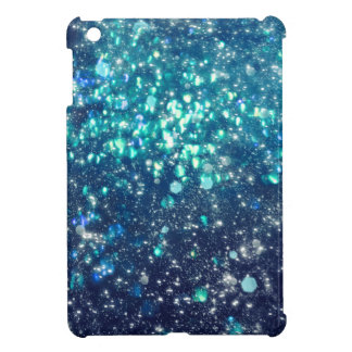 Turquoise Glitter iPad Mini Cover