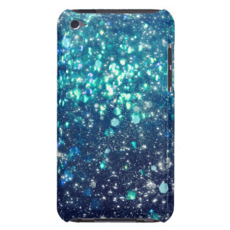 Turquoise Glitter iPod Case-Mate Case
