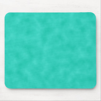Turquoise Green-Blue Marbleized Mouse Pad