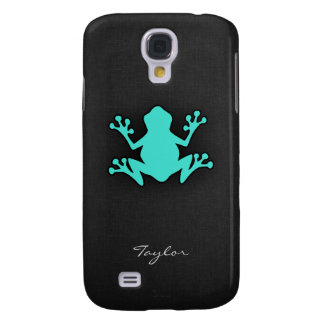 Turquoise Green Frog Galaxy S4 Case