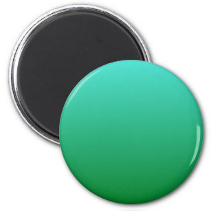 Turquoise Green Ombre Magnet
