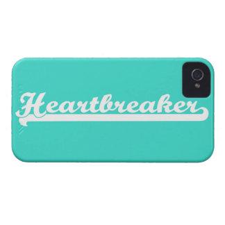Turquoise Heartbreaker Old School Varsity Case iPhone 4 Case-Mate Cases