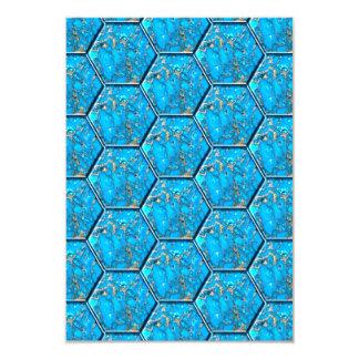 Turquoise Hexagon Tiles Announcements
