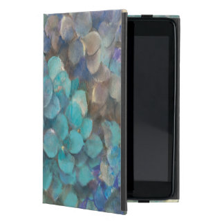 Turquoise Hydrangea Case For iPad Mini