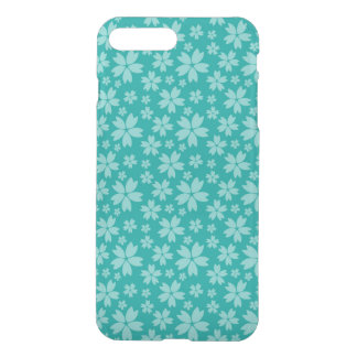 Turquoise iPhone 7 Plus Clearly™ Deflector Case