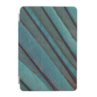 Turquoise Kingfisher Feather Design iPad Mini Cover