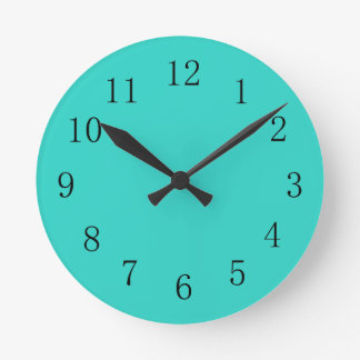 Turquoise Kitchen Kitchen Clock