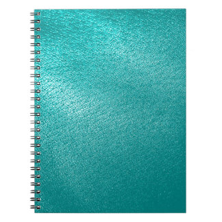 Turquoise Leather Look Notebook