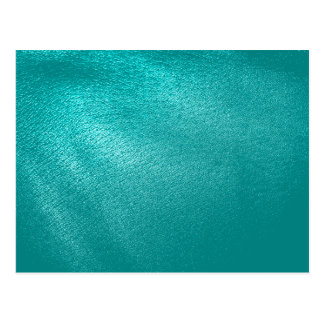 Turquoise Leather Look Post Cards