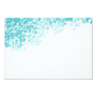 Turquoise Light Shower | Blank Insert Card