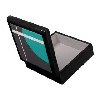 Turquoise Line Gift Box