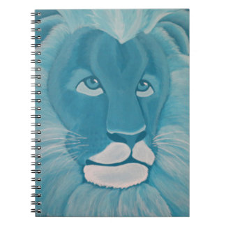 Turquoise Lion Notebook