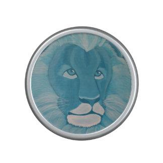 Turquoise Lion Speaker