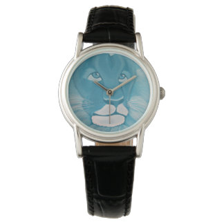 Turquoise Lion Watch