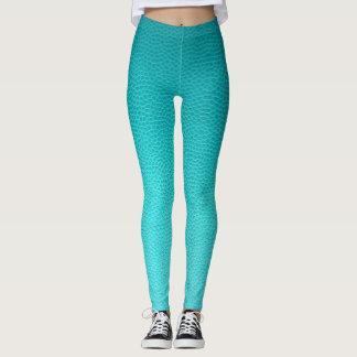 Turquoise Lizard Leggings