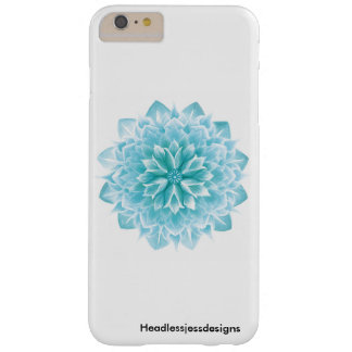 Turquoise Lotus iPhone Case. Barely There iPhone 6 Plus Case