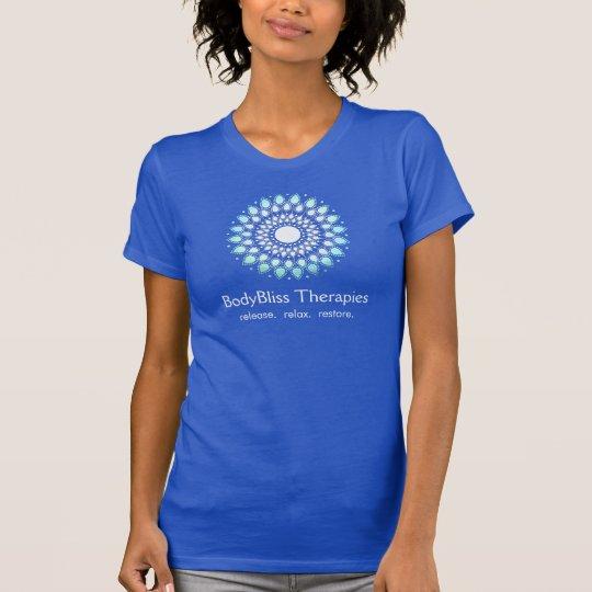 Turquoise Lotus Yoga Teacher Health Spa T-Shirt