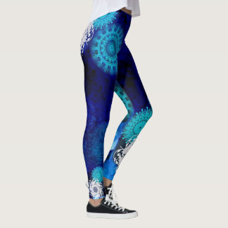 Turquoise madala leggings