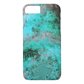 Turquoise Marble Phone Case