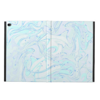 Turquoise marble texture for trendy girls powis iPad air 2 case