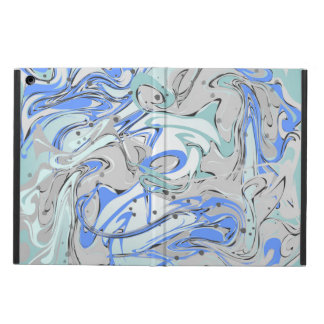 Turquoise marble texture iPad air cover