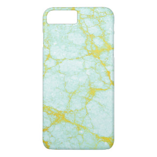 Turquoise Marble with Gold Veins iPhone 8 Plus/7 Plus Case