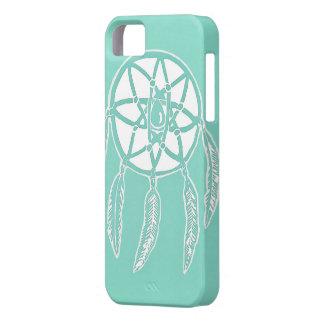 Turquoise Mint Dreamcatcher iPhone 5/5s Case