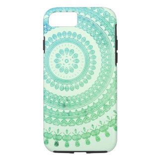 Turquoise Mint Green Boho Tribal Folk Gypsy Hippy iPhone 8/7 Case