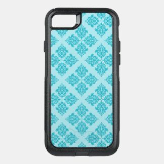 Turquoise Moroccan Damask OtterBox Commuter iPhone 8/7 Case