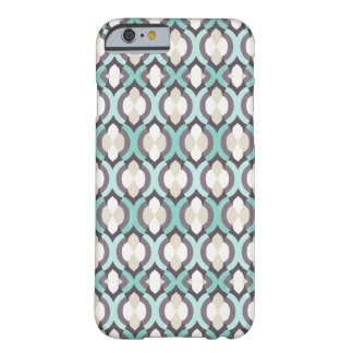 Turquoise Moroccan Pattern Barely There iPhone 6 Case