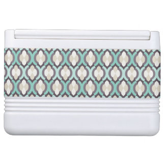 Turquoise Moroccan Pattern Igloo Cool Box