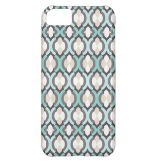 Turquoise Moroccan Pattern iPhone 5C Case